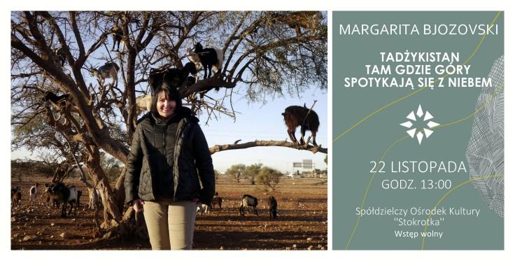 1 - Margarita Bjozovski - Tadżykistan - tam gdzie góry spotykają się z niebem (CZWARTEK)