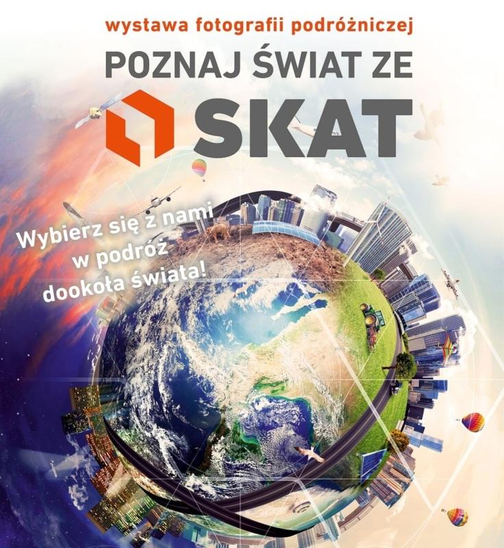 Poznaj świat ze SKAT - Grafika